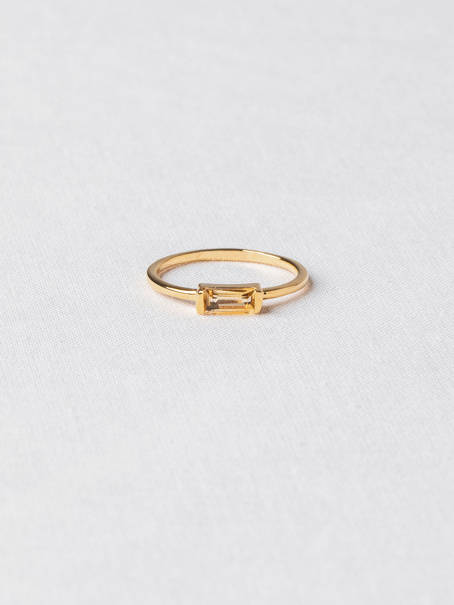 Joni Ring - Citrine (Gold)