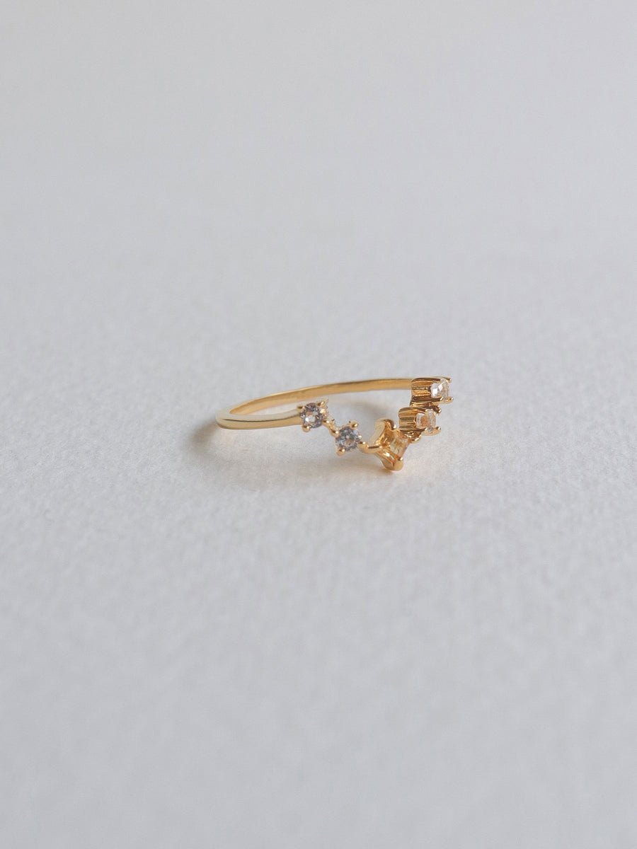 Katie Ring - Citrine (Gold)