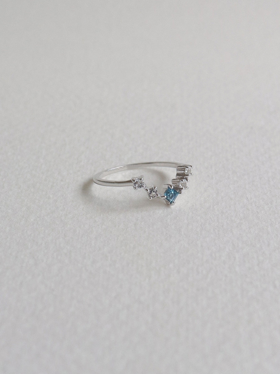 Katie Ring - London Blue Topaz (Silver)