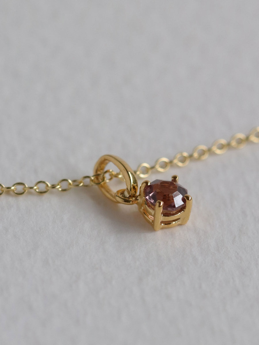 Charmed - One-of-a-Kind Pendant - Purple Spinel in 18k Gold