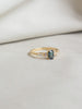 One-of-a-Kind Come What May Ring - Parti Sapphire and Diamonds in 18k Gold