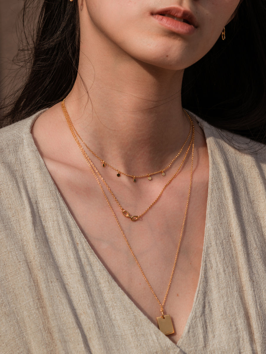 Lynk Necklace (Rose Gold)