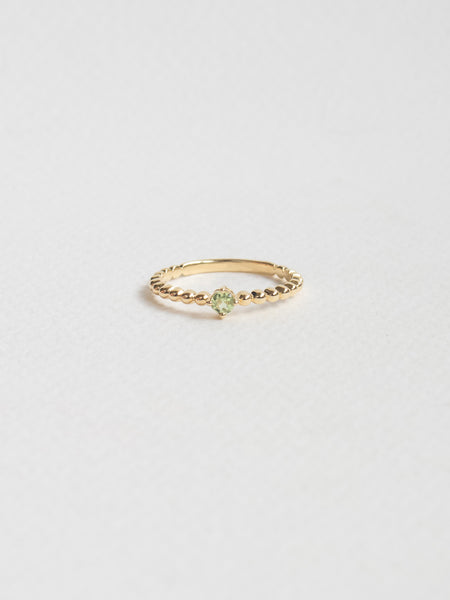 Birthstone Ring - August - Peridot