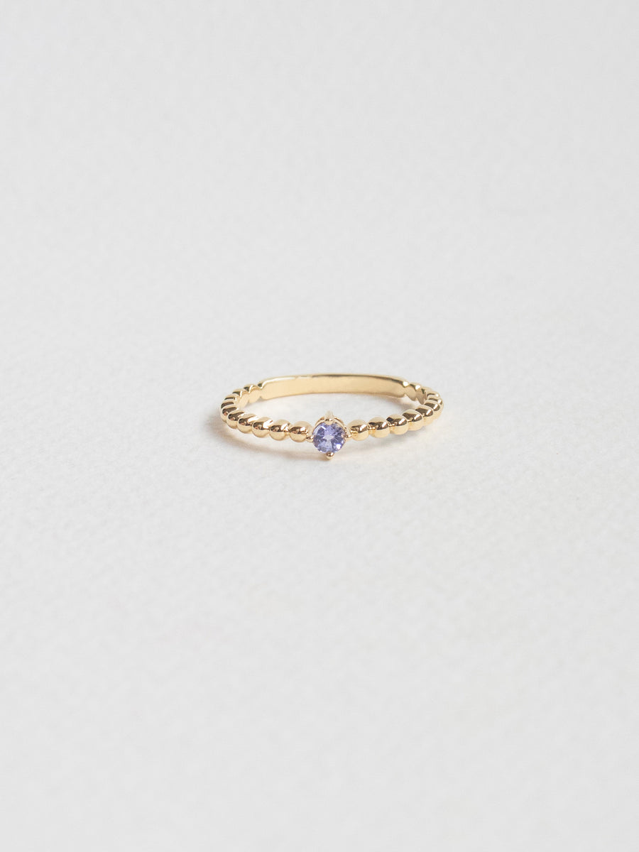Birthstone Ring - December - Tanzanite