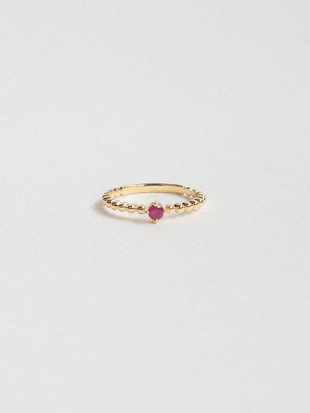 Birthstone Ring - July - Ruby