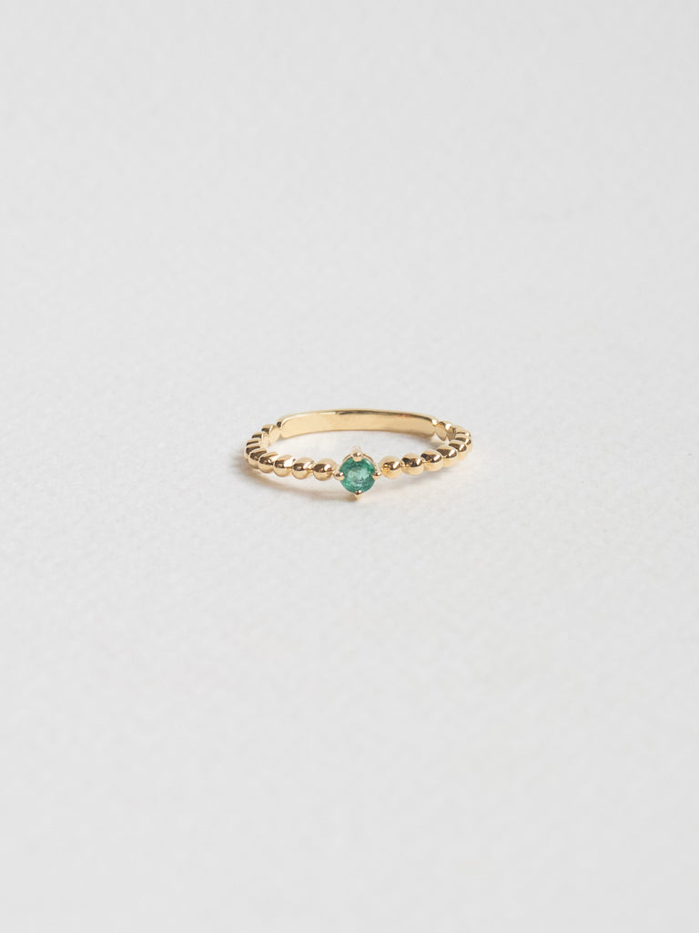 Birthstone Ring - May - Emerald