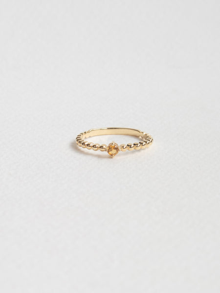 Birthstone Ring - November - Citrine