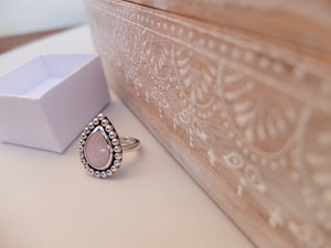 Goddess Ring ~ Morganite #160
