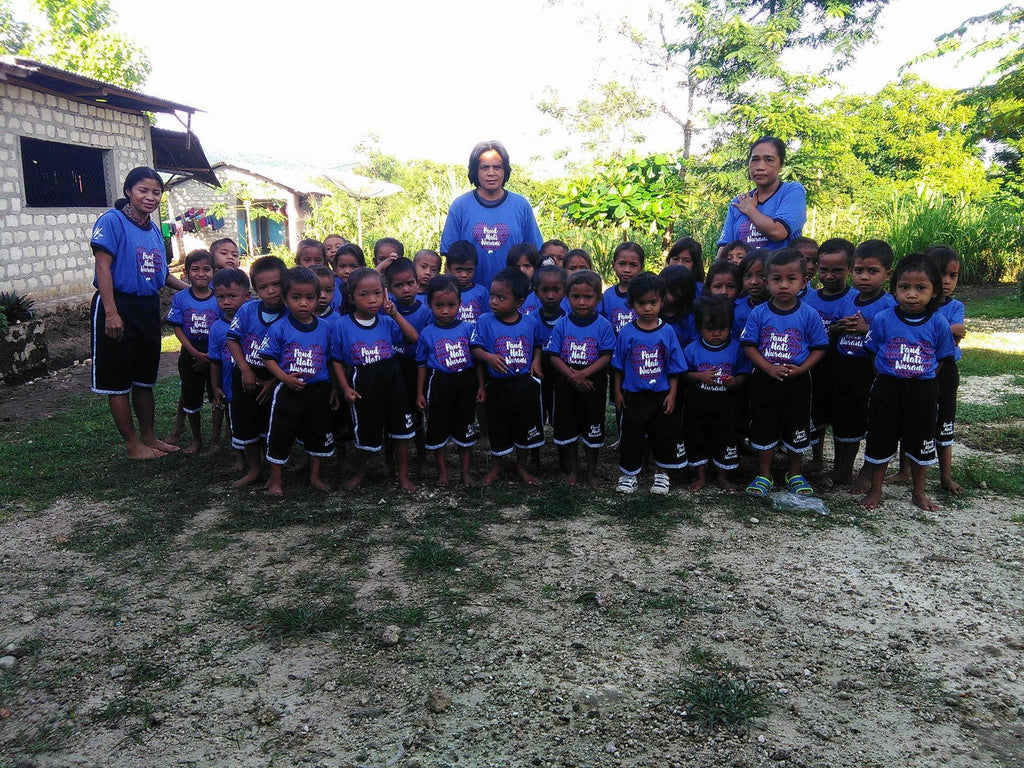Providing School Uniforms for the Hati Nurani Orphanage in Sumba