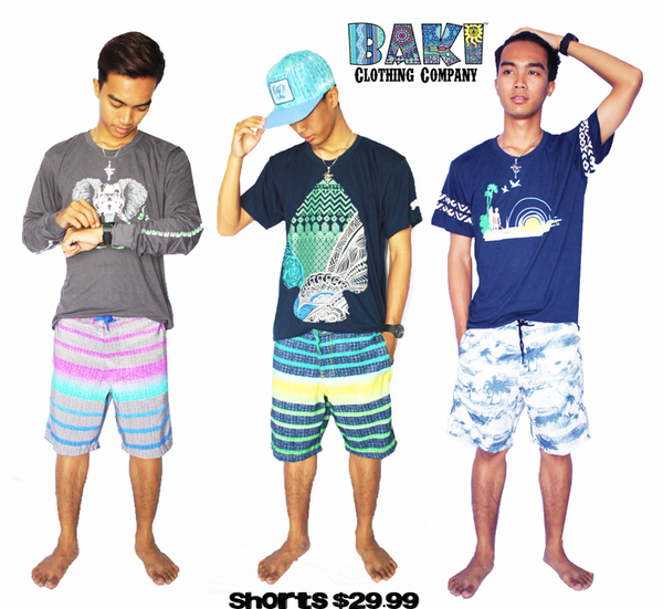 New Baki Boardshorts now on Sale for $29.99 (Reg. $42.99)
