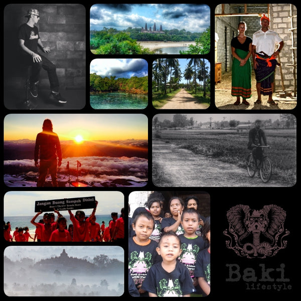 Baki Clothing Company supports Humanitarian Projects on the Island of Sumba