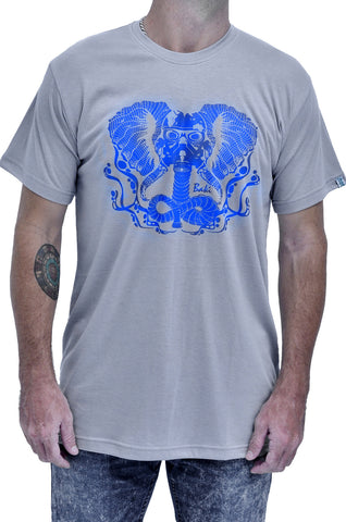 Elephunk Bamboo Mens Tshirt - Baki Lifestyle Apparel- Made from Bamboo - 1