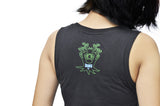 Flora Bamboo Ladies Tank Top - Baki Lifestyle Apparel- Made from Bamboo - 2