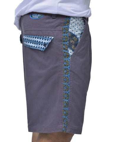 Mens Batik Casual Shorts - Baki Lifestyle Apparel- Made from Bamboo - 1