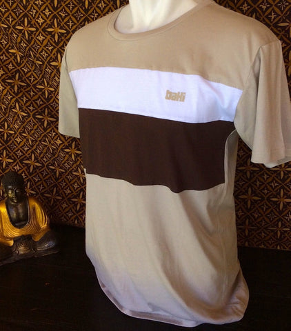 Three Color Combo Tshirt - Baki Lifestyle Apparel- Made from Bamboo - 1