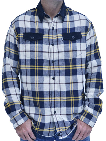 Baki Cordawood Flannel - Baki Lifestyle Apparel- Made from Bamboo - 1