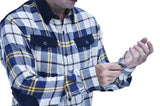 Baki Cordawood Flannel - Baki Lifestyle Apparel- Made from Bamboo - 3