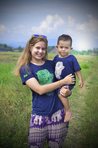 Bison Eye Ladies Bamboo Tshirt - Baki Lifestyle Apparel- Made from Bamboo - 1