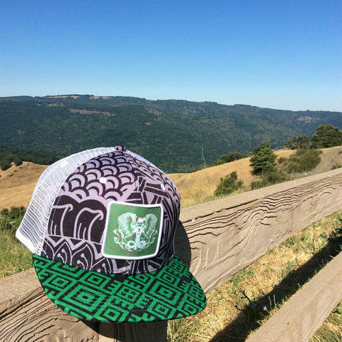 The Native Hybrid Mesh Hat