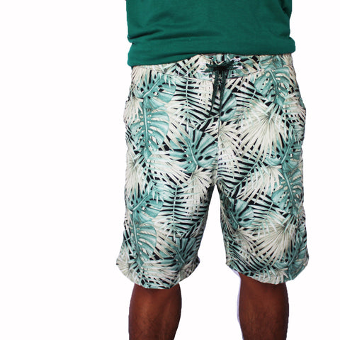 The White-Leaf Boardshorts