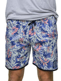 Floral Beach Shorts - Baki Lifestyle Apparel- Made from Bamboo - 1