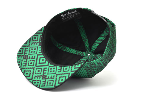 The Green Gajah Bamboo Snapback Hat