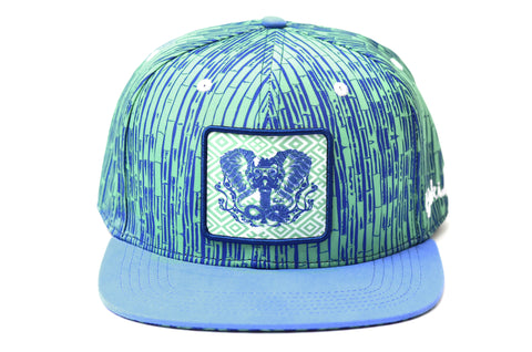 The Blue Gajah Bamboo Eco-Snapback Hat