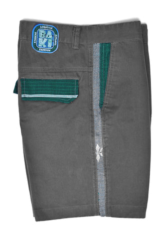 Native Thread Twill Walking Shorts - Baki Lifestyle Apparel- Made from Bamboo - 1