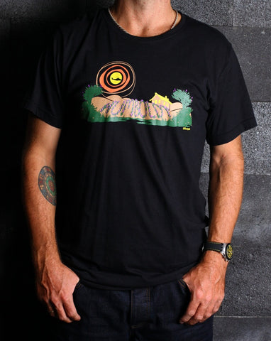 Humboldt Lifestyle Bamboo Mens Tshirt - Baki Lifestyle Apparel- Made from Bamboo - 1