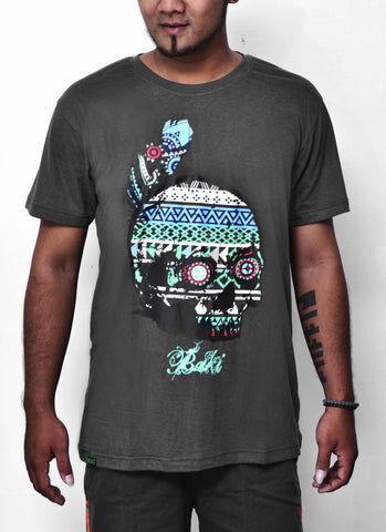New Skull Bamboo Tshirt - Baki Lifestyle Apparel- Made from Bamboo