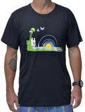 Surf Life Mens Bamboo Tshirt - Baki Lifestyle Apparel- Made from Bamboo - 3