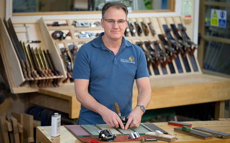 Check out this review of Peter Sefton's Chisel and Plane Sharpening DVD on UKWorkshop.co.uk - woodworking forum.