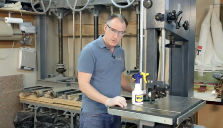Rust Removal and Prevention with Peter Sefton