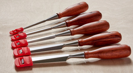 WoodRiver Chisel Guards Review by Jonathan Salisbury, The Woodworker October 2019