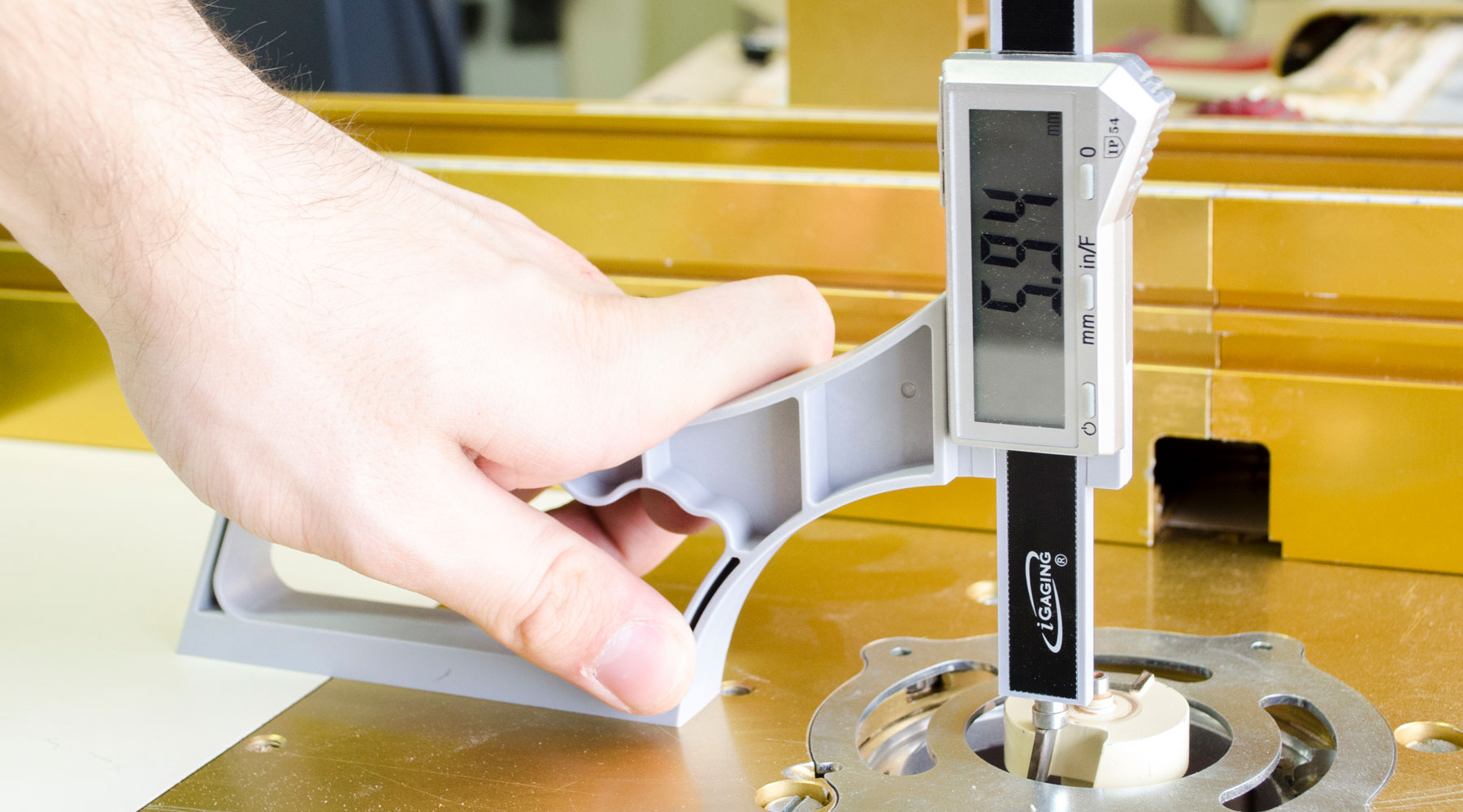 iGaging SnapCheck Digital Gauge Review, The Woodworker Magazine
