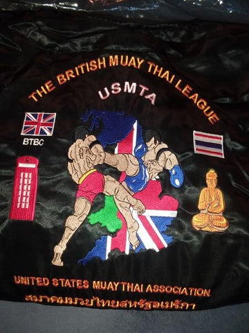 BRITISH LEAGUE SATIN JACKET