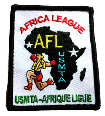 AFRICA LEAGUE PATCH