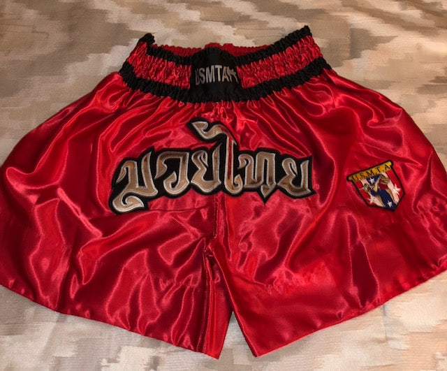 MUAY THAI SHORTS (Red)