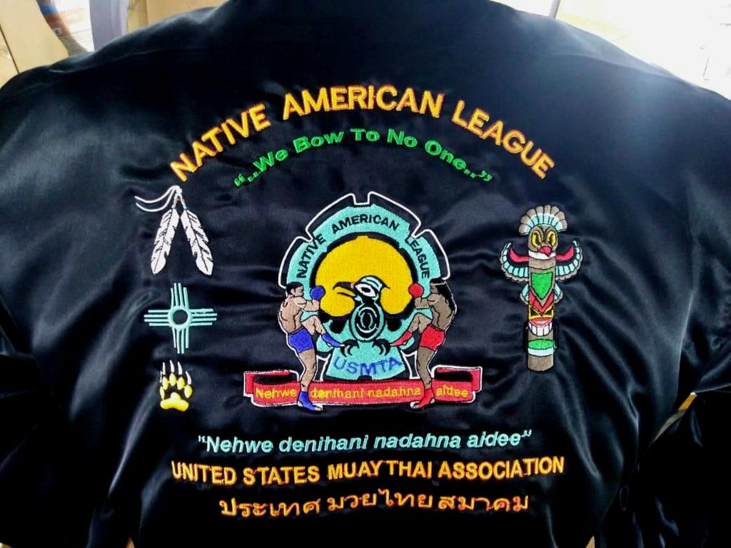 USMTA  NATIVE AMERICAN LEAGUE JACKET