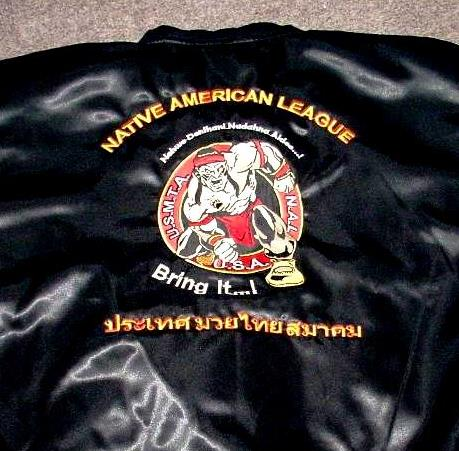 NAL  ( BRING IT!) SATIN JACKET