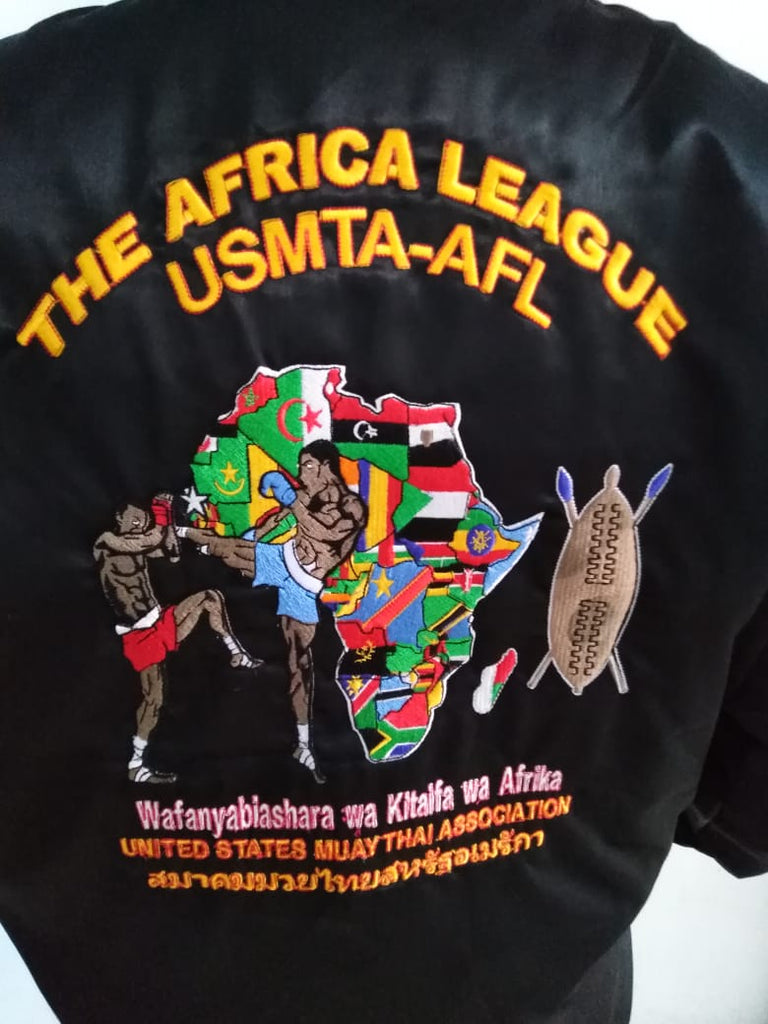 USMTA  AFRICA LEAGUE JACKET