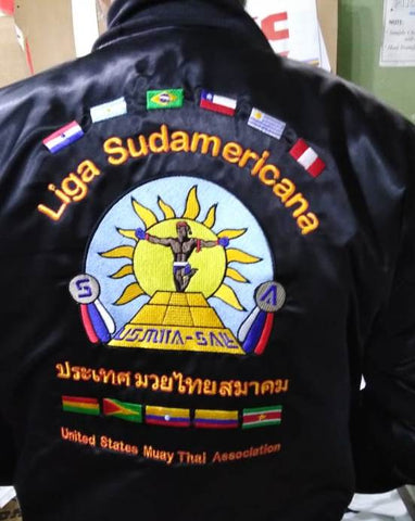 South American League Satin Jacket
