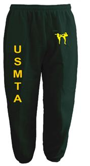 USMTA SWEAT PANTS & JOGGERS (Forest Green)