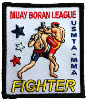 MMA FIGHTER PATCH