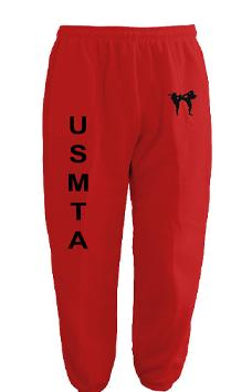 USMTA SWEAT PANTS & JOGGERS (Red)