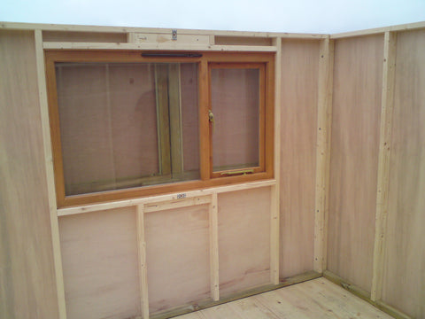 Mr & Mrs W– Portland Bill, Dorset – 14ft x 11ft Customised Beach Hut, Installation Photo 3