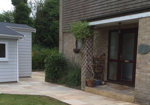 Complete Photo 2 -  8m x 5m Cedral Clad Garden Room Including Toilet & Kitchen / Utility Room, Salisbury, Wiltshire