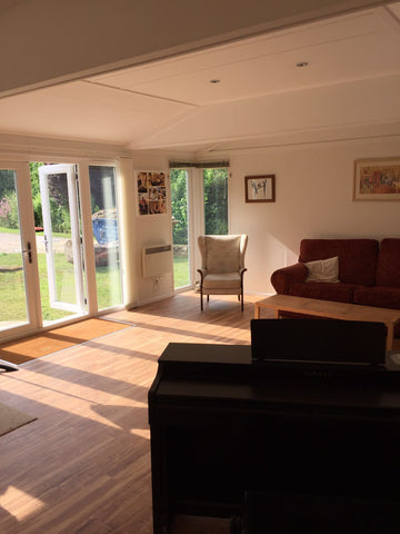 Internal Photo 2 -  8m x 5m Cedral Clad Garden Room Including Toilet & Kitchen / Utility Room, Salisbury, Wiltshire