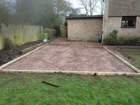 Garden Retreat Concrete Base Construction, Downton, Salisbury, Wiltshire Photo 3
