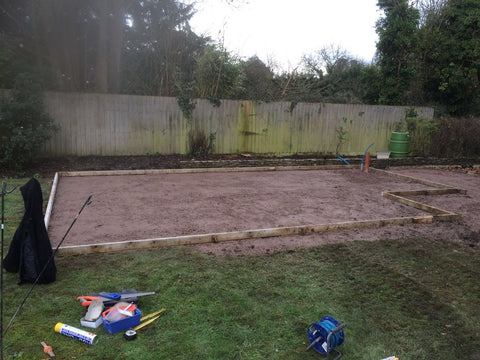 Garden Retreat Concrete Base Construction, Downton, Salisbury, Wiltshire Photo 4